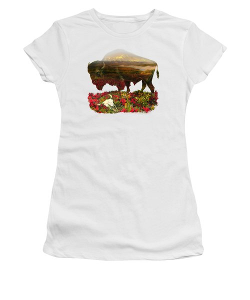 American Buffalo Women's T-Shirt (Athletic Fit)