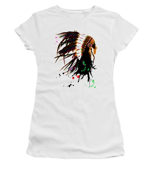 American Native Female Women's T-Shirt (Athletic Fit)