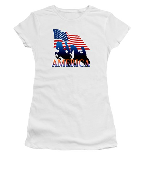 American Pioneer Design Women's T-Shirt