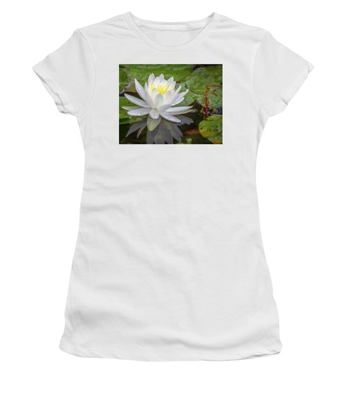 American White Water Lily Women's T-Shirt