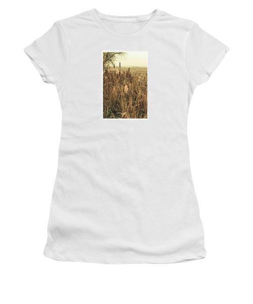 *among The Reeds  #landscape Women's T-Shirt