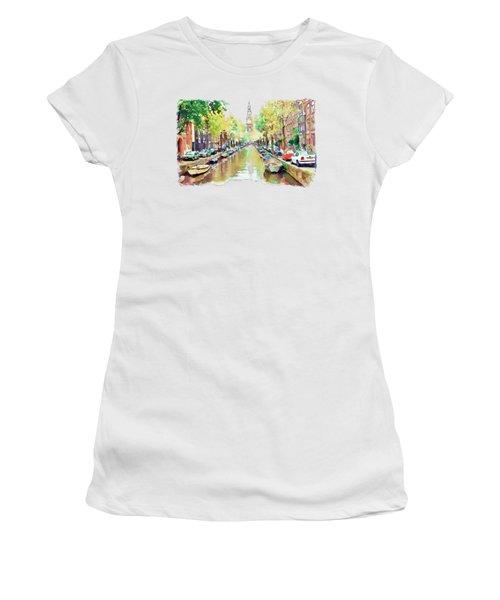 Amsterdam Canal 2 Women's T-Shirt