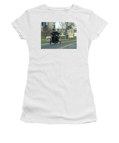 An Evening Ride Women's T-Shirt