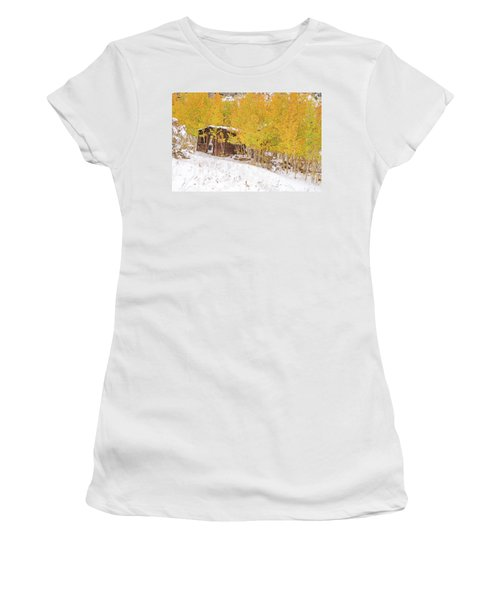 An Example Of Etiolated Nostalgia  Women's T-Shirt (Junior Cut) by Bijan Pirnia