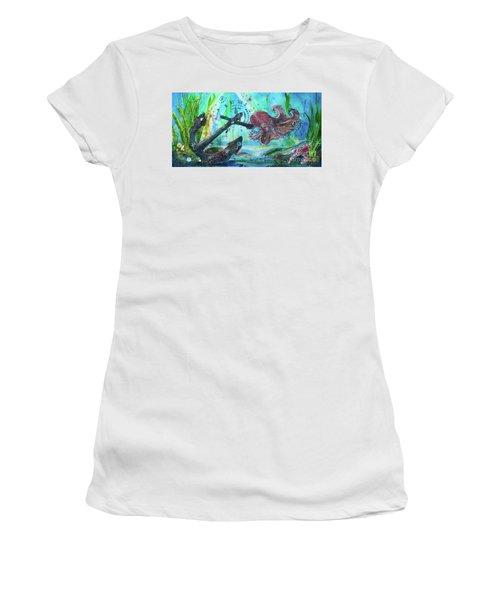 Anchors Away Women's T-Shirt