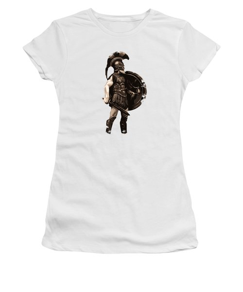 Ancient Greek Hoplite Women's T-Shirt