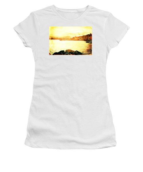 Ancient Marina Women's T-Shirt (Junior Cut) by Andrea Barbieri