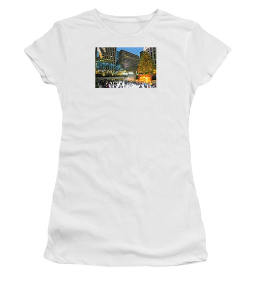 And So This Is Christmas Women's T-Shirt (Athletic Fit)
