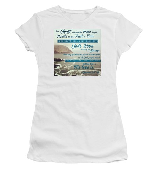 And This Is God's Plan: Both Gentiles Women's T-Shirt