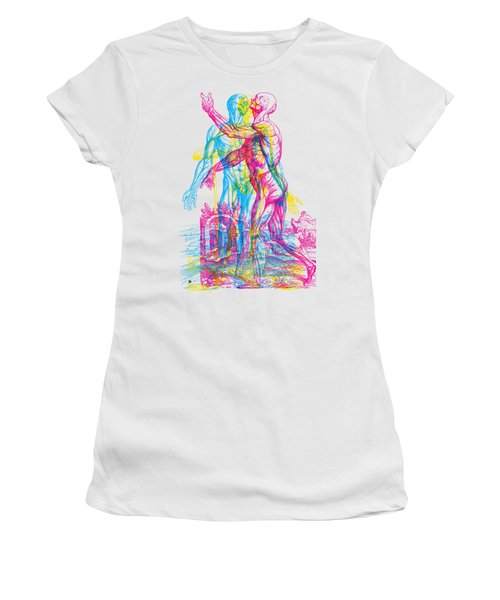 Andreae Skeleton  Women's T-Shirt (Athletic Fit)