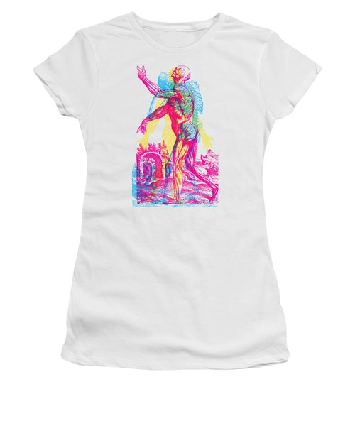 Andreae Vesalii Anatomy 1 Women's T-Shirt (Athletic Fit)