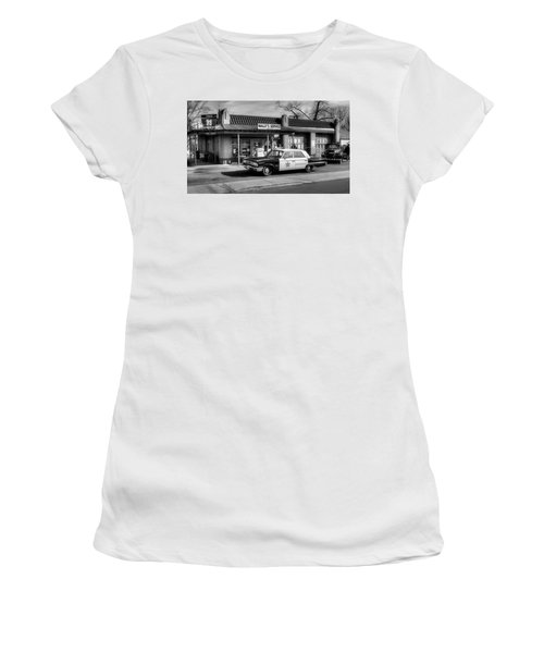 Andy Griffith And Mayberry Women's T-Shirt (Athletic Fit)