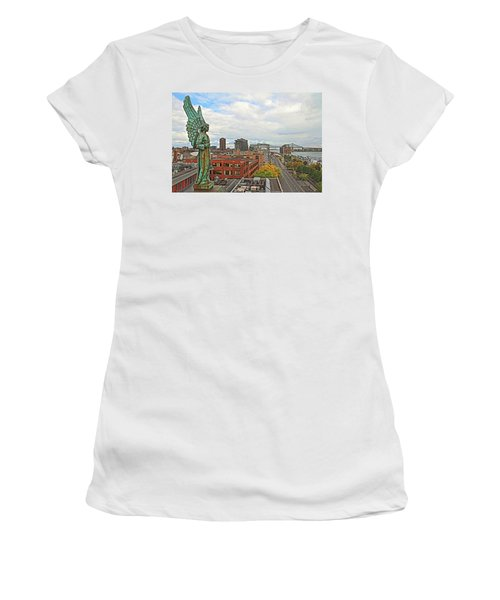 Angel Of Old Montreal Women's T-Shirt