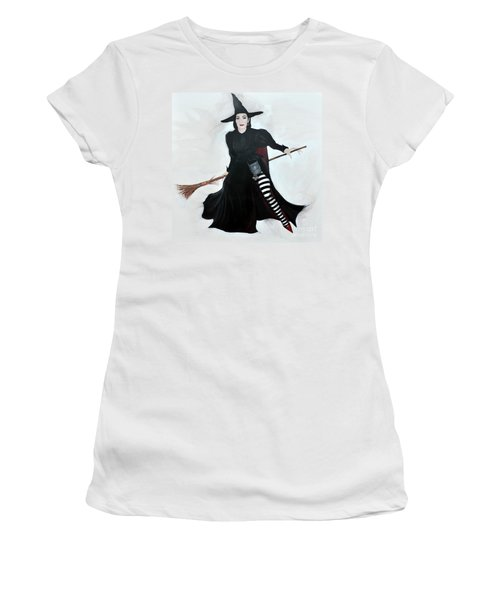 Angelica Houston Bewitched Women's T-Shirt (Athletic Fit)