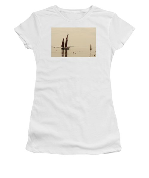 Angelique Leaving Camden Women's T-Shirt (Athletic Fit)