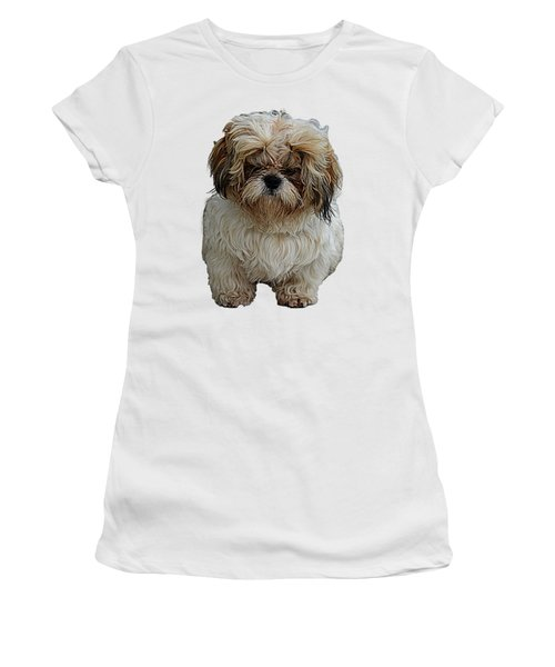 Angry Dog I Women's T-Shirt (Athletic Fit)
