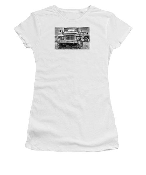 Angry Grandpa Women's T-Shirt (Junior Cut) by Tgchan