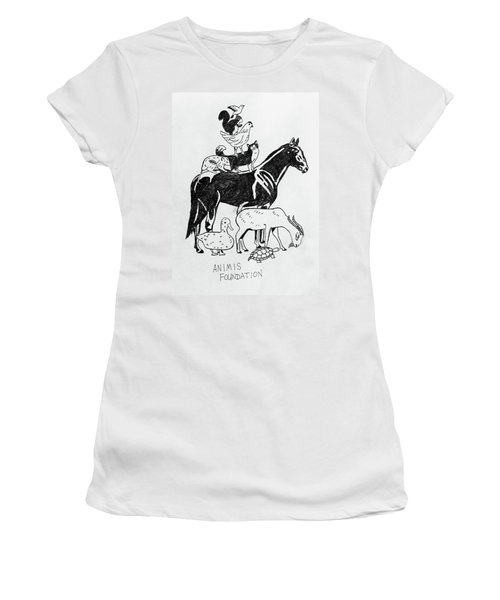 Animis Foundation Women's T-Shirt (Athletic Fit)