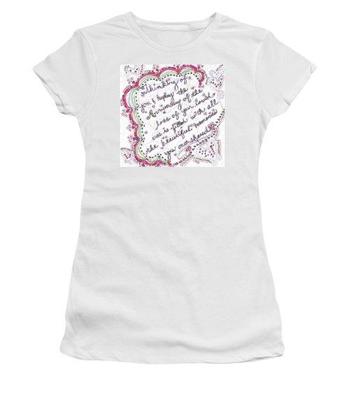 Anniversary Memorial Women's T-Shirt