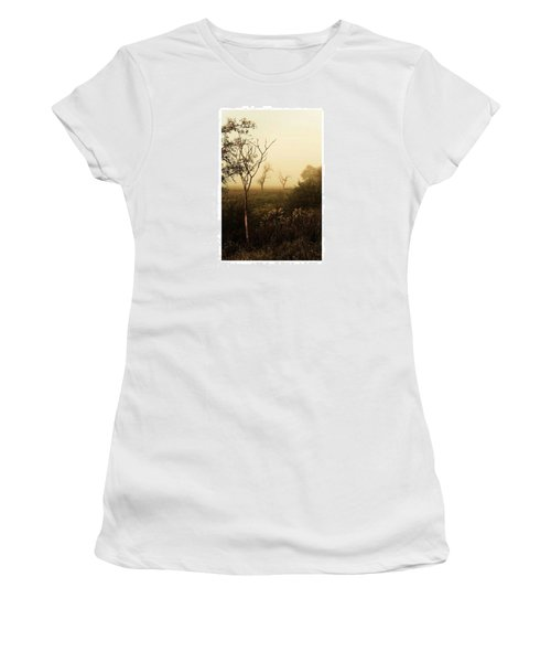 Another Morning  #autumn #morning Women's T-Shirt (Athletic Fit)