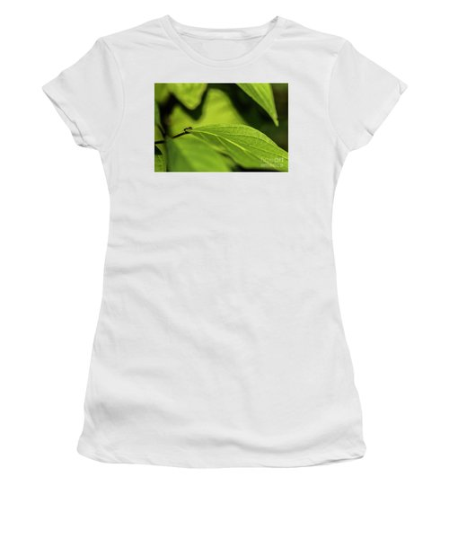 Women's T-Shirt (Junior Cut) featuring the photograph Ant Life by JT Lewis