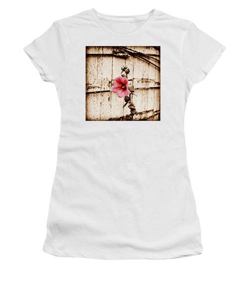 Antique Flower Women's T-Shirt