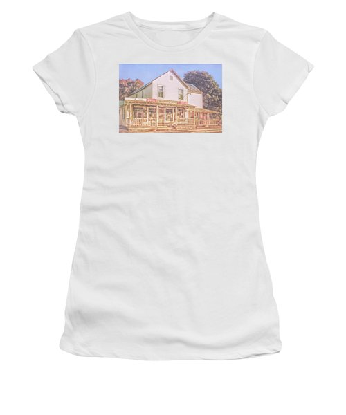 Antique Store, Colonial Beach Virginia Women's T-Shirt (Athletic Fit)