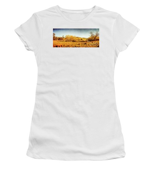 Antique Weathered Countryside Women's T-Shirt