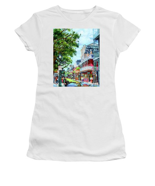 Antoine's Women's T-Shirt (Athletic Fit)