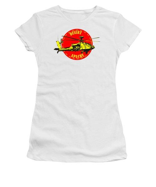 Apache On Desert Women's T-Shirt