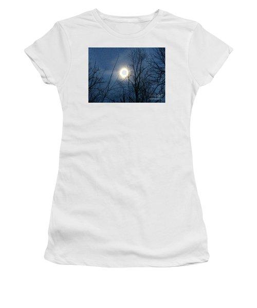 April Moonlight Women's T-Shirt (Athletic Fit)