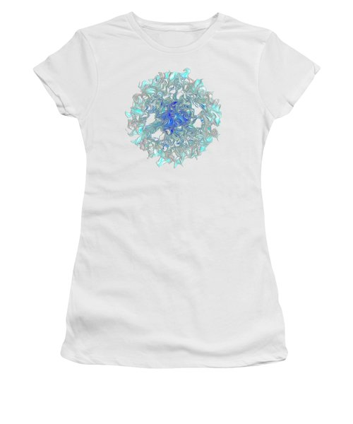 Aqua Art By Kaye Menner Women's T-Shirt (Athletic Fit)