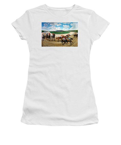 Aqueduct Racetrack Women's T-Shirt