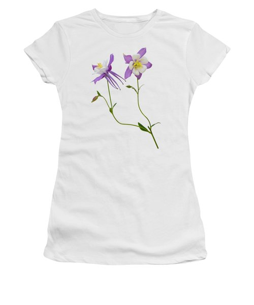 Aquilegia Specimen Women's T-Shirt (Athletic Fit)