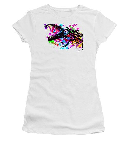 Ar15 Pop Art Women's T-Shirt