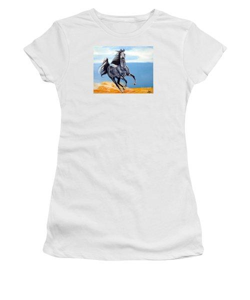 Arabian Dreams Women's T-Shirt (Junior Cut) by Cheryl Poland