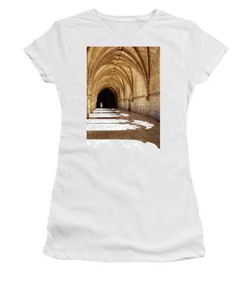 Arches Of Jeronimos Women's T-Shirt (Athletic Fit)