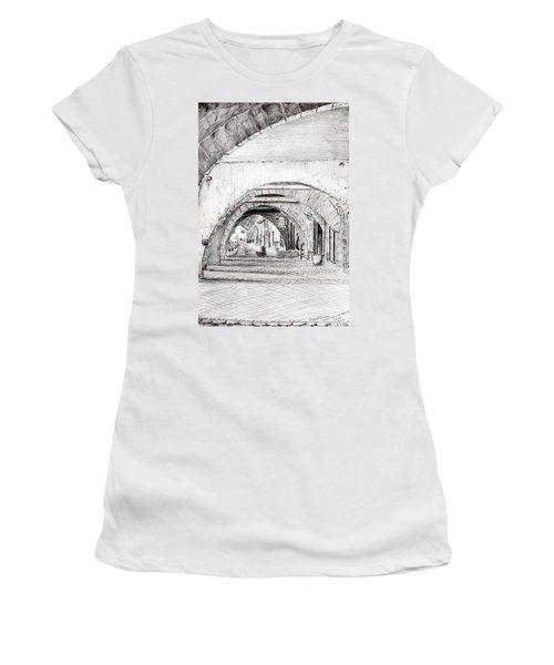 Arches Sauveterre France Women's T-Shirt