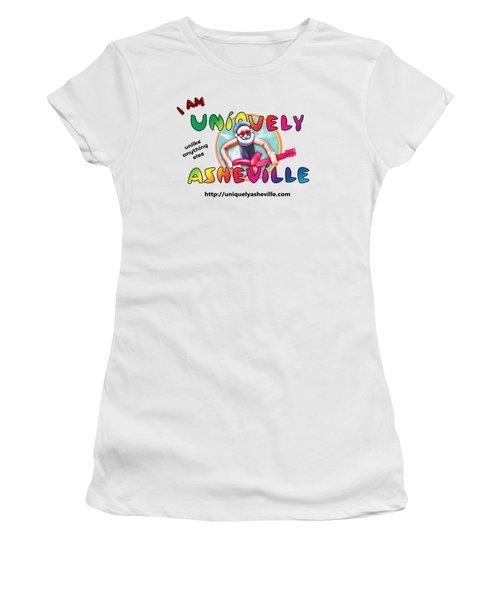 Are You Uniquely Asheville Women's T-Shirt (Junior Cut) by John Haldane