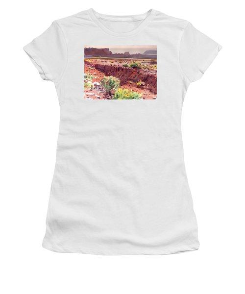 Arizona Arroyo Women's T-Shirt (Junior Cut) by Donald Maier