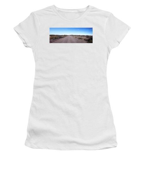 Arizona Desert Women's T-Shirt (Junior Cut) by Edward Peterson