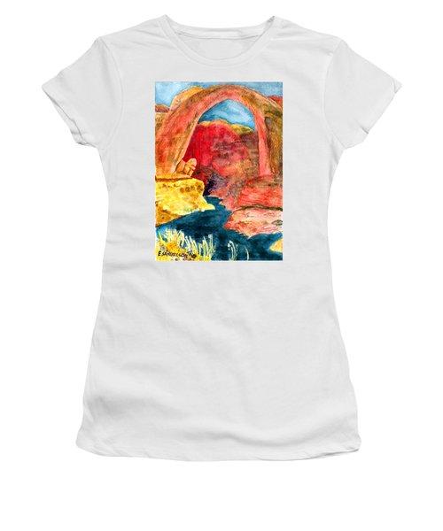 Arizona Rainbow Women's T-Shirt (Athletic Fit)