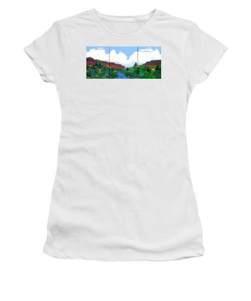 Arizona Sky Women's T-Shirt (Athletic Fit)