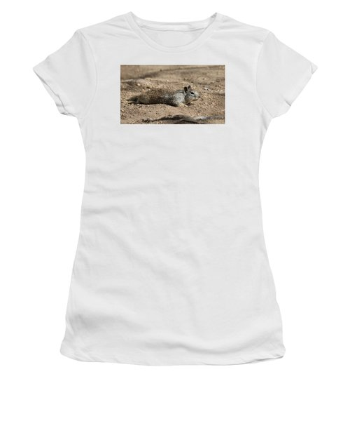 Army Crawl - 3 Women's T-Shirt (Athletic Fit)