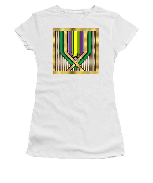 Art Deco 14 A Transparent Women's T-Shirt (Athletic Fit)