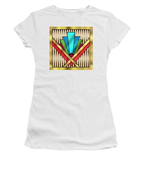 Art Deco 15 Transparent Women's T-Shirt (Athletic Fit)