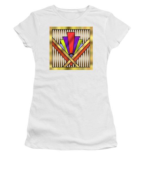 Art Deco 16 Transparent Women's T-Shirt (Athletic Fit)