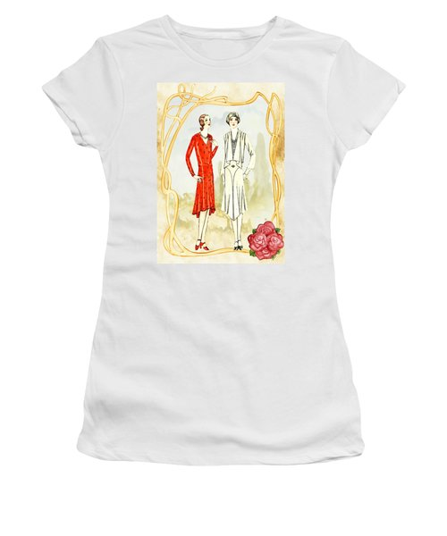 Art Deco Fashion Girls Women's T-Shirt