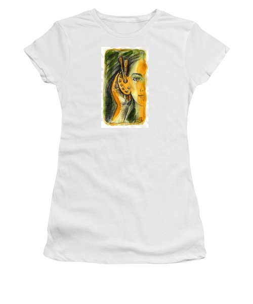 Art Of Listening Women's T-Shirt (Athletic Fit)