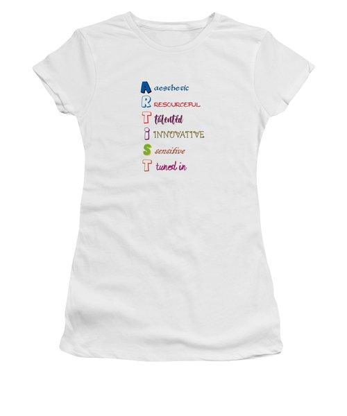 Artist Analogy Women's T-Shirt